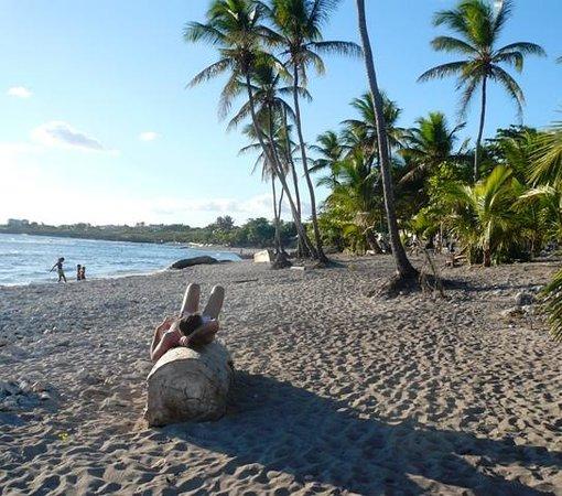 Playa Caleta La Romana : la spiaggia