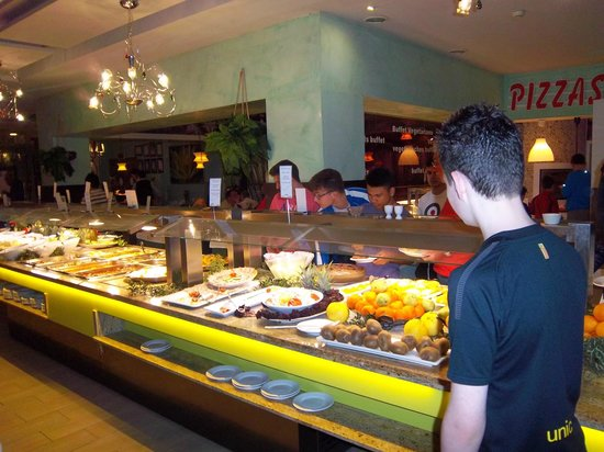 Hotel & Spa Benalmádena Palace:                   dinner time selection