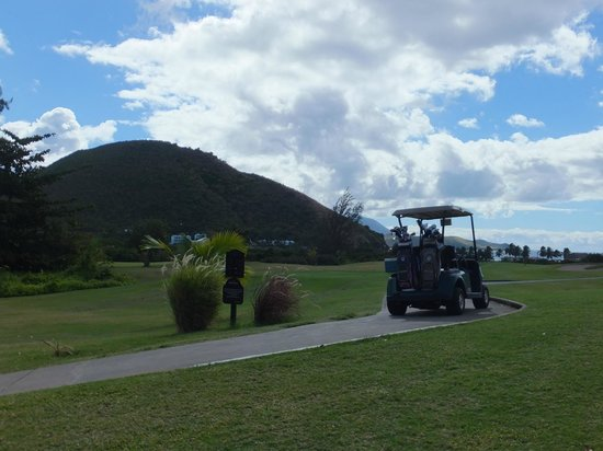 Royal St. Kitts Golf Club: on the course