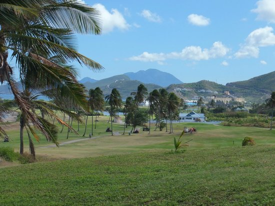 Royal St. Kitts Golf Club: valley