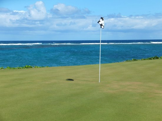 Royal St. Kitts Golf Club: viw of the 16th holes