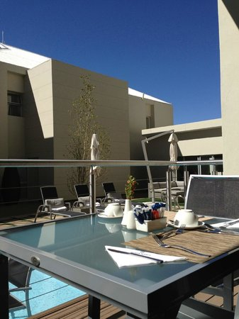Protea Hotel by Marriott Upington: View from the restaurant