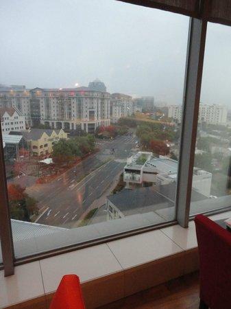 Radisson Blu Hotel Sandton, Johannesburg:                                     view from restaurant