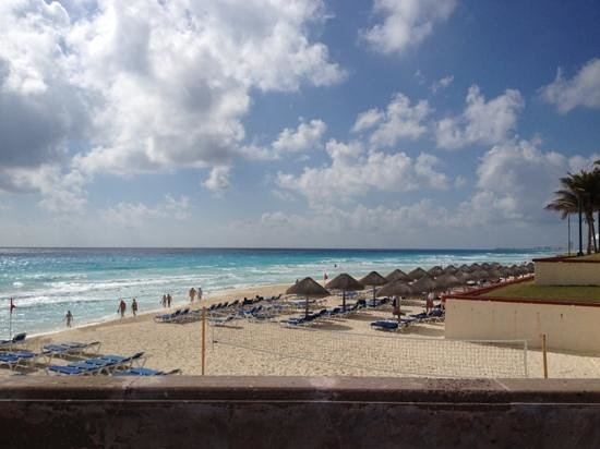 Marriott Cancun Resort:                   praia