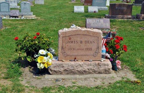 James Dean Memorial Park:                   James B. Dean - Headstone