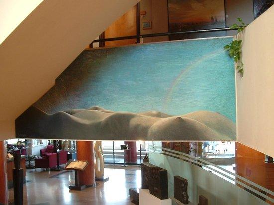Hotel Estela Barcelona - Hotel del Arte:                                     Eye candy lobby