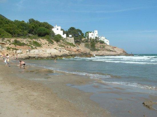 إيستيلا برشلونة:                                     Beach next to hotel                                  