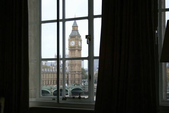 London Marriott Hotel County Hall:                   View from our room