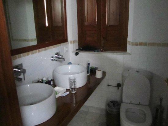 Hotel Amadeus:                   Bathroom ok, but very small.