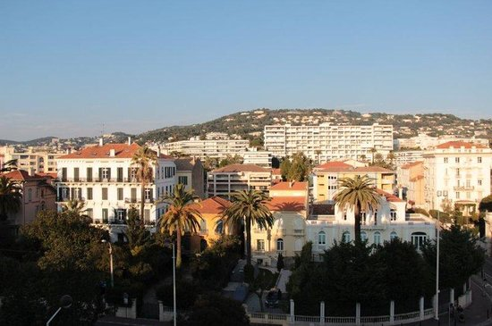 Hotel Abrial Cannes Centre: Vue Collines