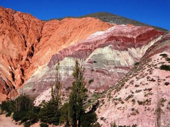 Cerro de los Siete Colores (Berg der sieben Farben):                   Cerro de las sete colores