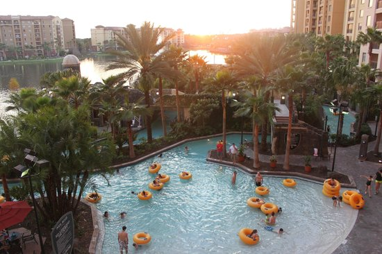 Wyndham Bonnet Creek Resort:                   Lazy River