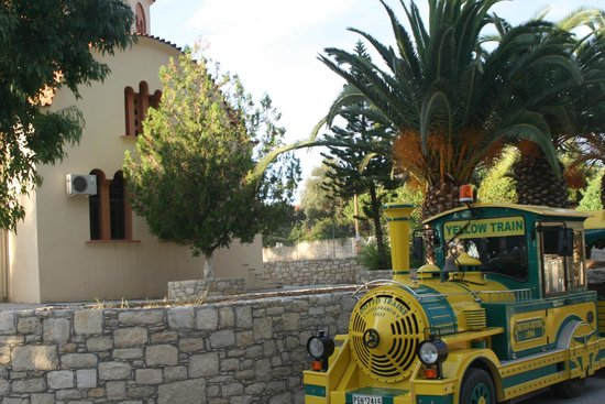 Yellow Train Rethymno Day Excursions