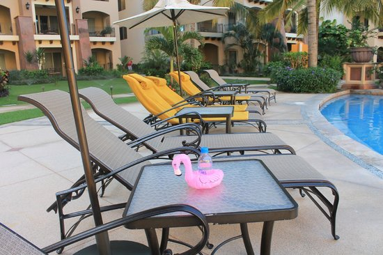 Villa La Estancia Beach Resort & Spa Riviera Nayarit:                                     The poolside