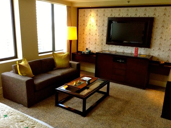 Mandarin Oriental Jakarta: Spacious room