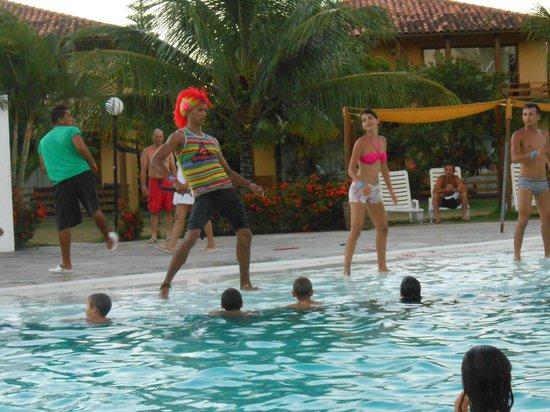 Resort La Torre:                   Muy lindos shows en la pileta central