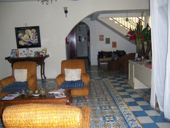 La Islita Boutique Hotel:                   This is the reception area.