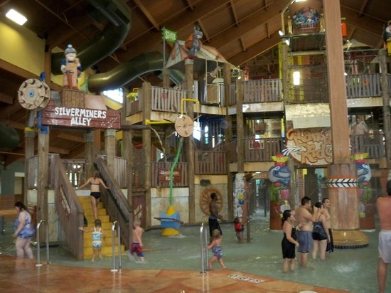 Wilderness Resort :                   One of the indoor waterparks