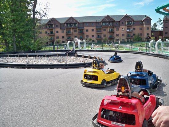Wilderness Resort:                   Outside go-carts