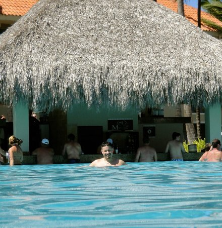 Dreams Palm Beach Punta Cana:                                     Awesome pool and swimup bar