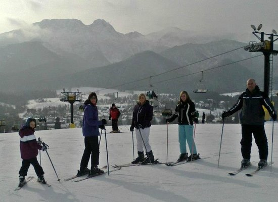 My Students From Australia On Szymoszkowa Ski Slope Picture Of Ski