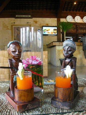 Hotel Vila Ombak:                                     reception