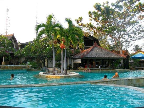 Hotel Vila Ombak :                                     pool