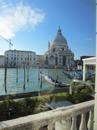 The Westin Europa & Regina, Venice:                   view from breakfast area
