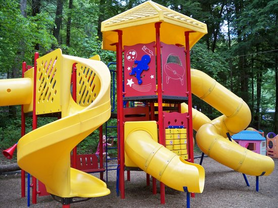 Yogi in the Smokies:                   Playground at Yogi Bear