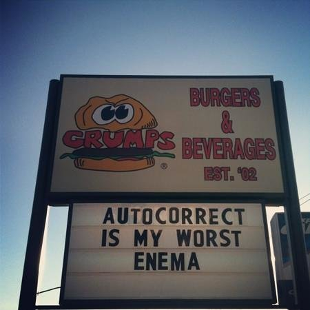 Grumps Burgers: Clever!
