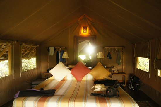 Tortilis Camp:                   W namiocie