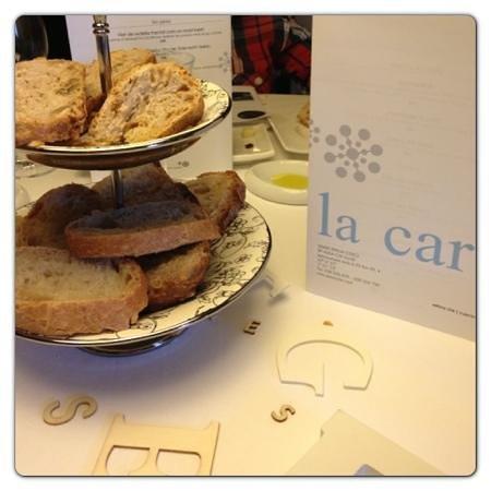L'Estany clar:                   excelente cuidado con el pan