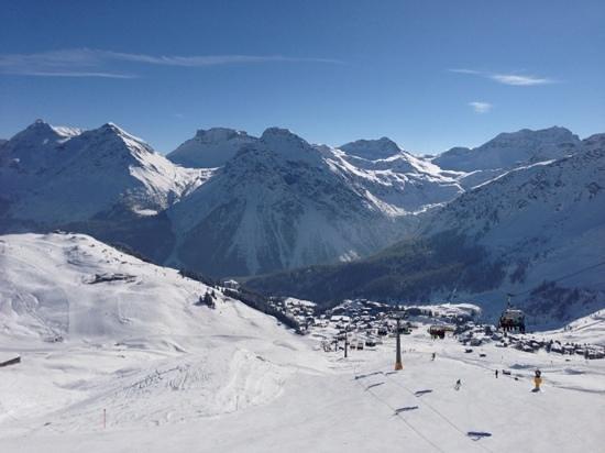 Arosa Kulm Hotel & Alpin Spa : Skigebiet