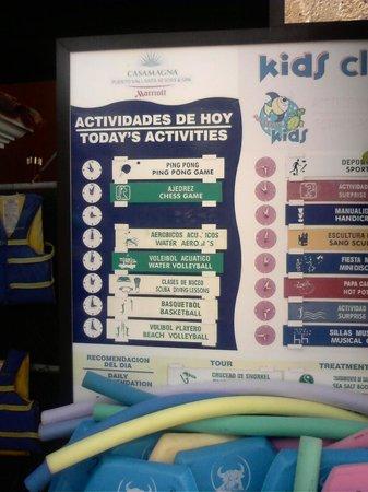 Casa Magna Marriott Puerto Vallarta Resort & Spa: Adult Activities