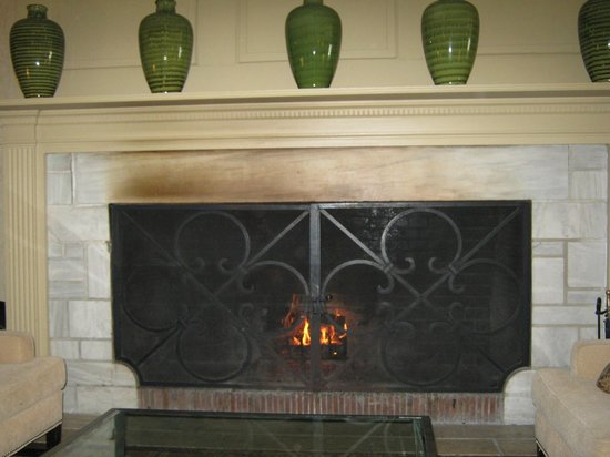 The Equinox Golf Resort & Spa: Fireplaces around the hotel