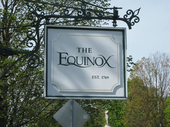 The Equinox Golf Resort & Spa: Entrance