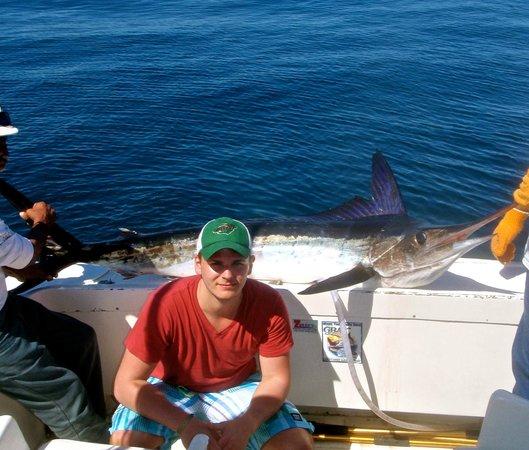 Tyler 39 s hammerhead shark picture of pisces sportfishing for Pisces fishing cabo