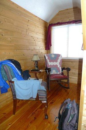 The Agate Cross Bed & Breakfast, LLC:                   sitting area                 