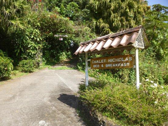 Chalet Nicholas: Entrance