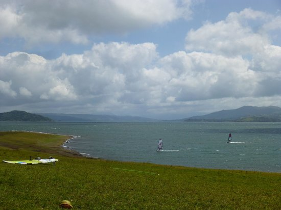 Chalet Nicholas: Nearby Tico Wind park with windsurfers.