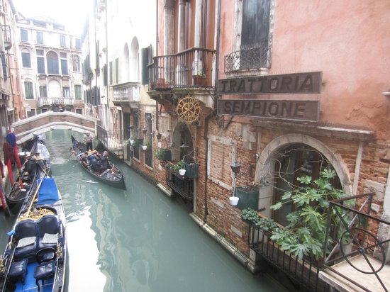 The Westin Europa & Regina, Venice:                   back street but not as we know it