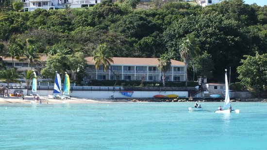Blue Waters Antigua:                   OUR APARTMENT BLOCK