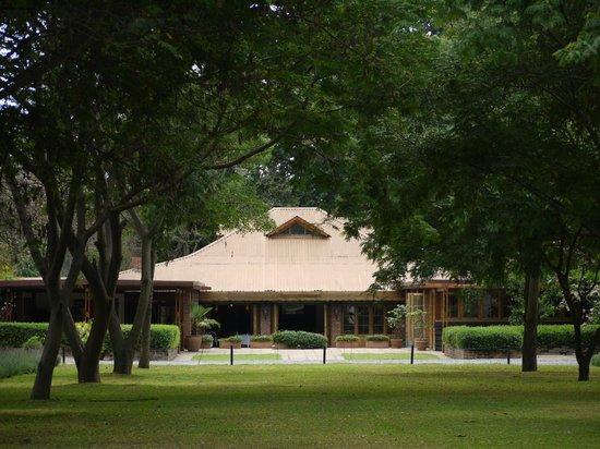 Arusha Coffee Lodge:                   main building