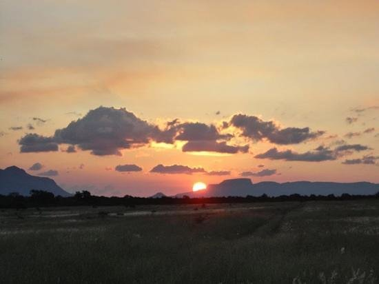 Kapama River Lodge :                   Nothing like an African Sunset