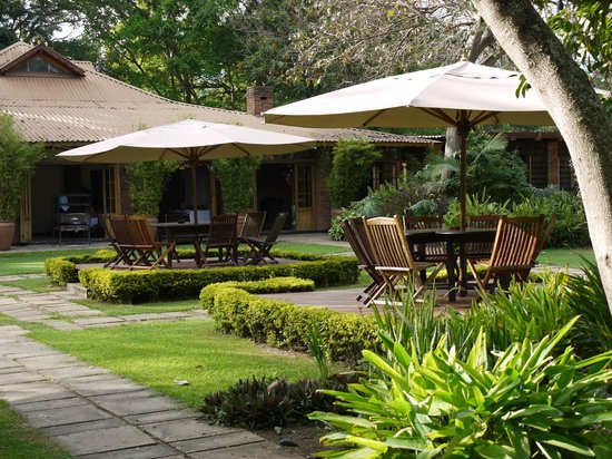 Arusha Coffee Lodge:                   Outdoor Resturant
