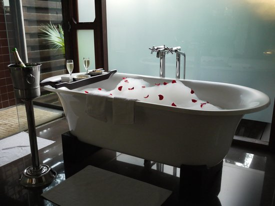 Arusha Coffee Lodge:                   Bath for two