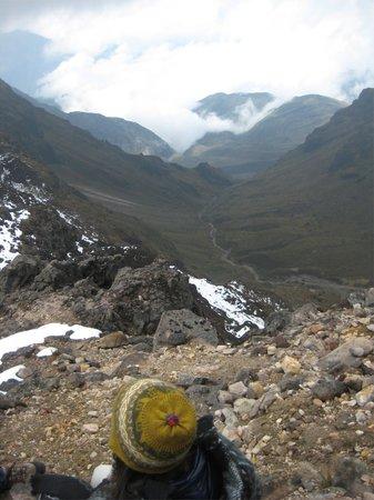 Kingdom Kichwa:                   The view from Pichincha Volcano