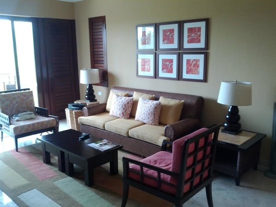 Fairmont Mayakoba: Living room
