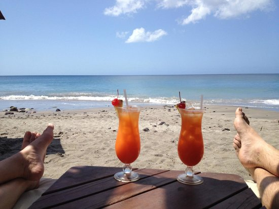 Ti Kaye Resort & Spa:                   Beach and Rum Punch.  Does it get any better?