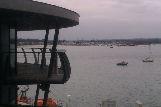 RNLI College:                   The central area (bar and restaurant) have viewing platforms